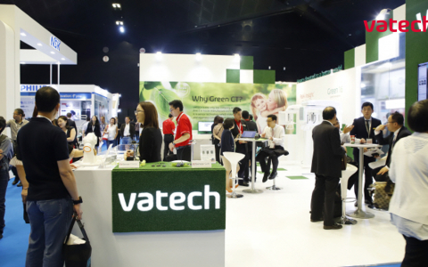 IDEM 2018, Vatech painted the largest dental exhibition in Asia  'Green'