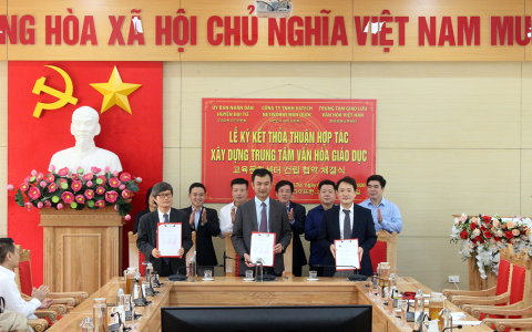 Vatech creates an Education and Culture Centerin Vietnam