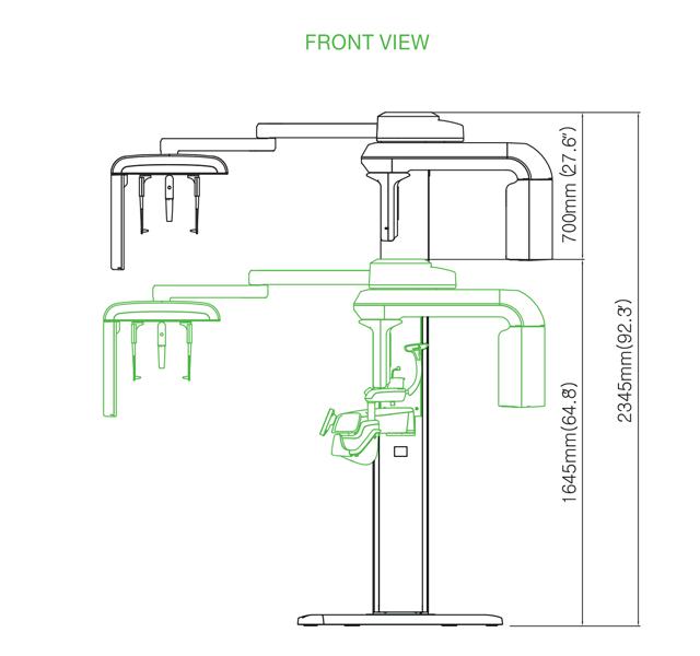 PaX-i3D Green - 3D Imaging Systems - VATECH